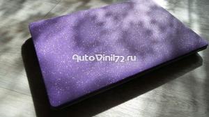 Алмазная крошка фиолетовая